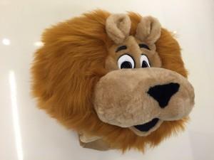 60p-Löwe-Kostüm-Maskottchen