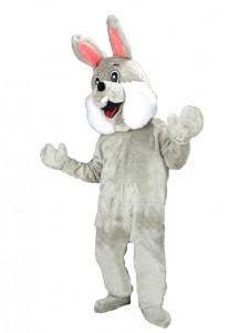 Plüschkostüm-Kostüm-74p-grau-Osterhase