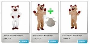 33p-Katze-Kostüm-Lauffigur