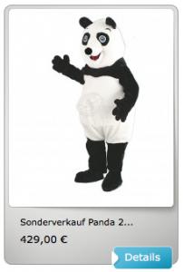 Panda-Kostüm