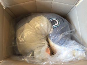 47A-Kostüm-Delfin-Lauffigur-Maskottchen