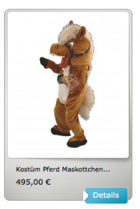 Maskottchen-99a-Kostüm
