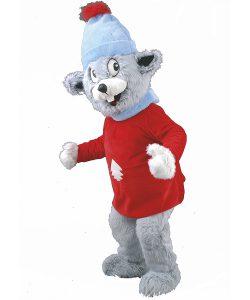 Maus-Maskottchen-Kostüm