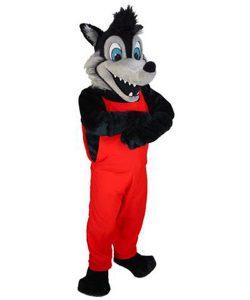 Wolf-Maskottchen-Kostüme