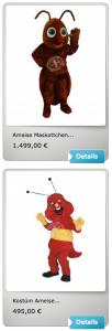 ameise-kostueme-maskottchen