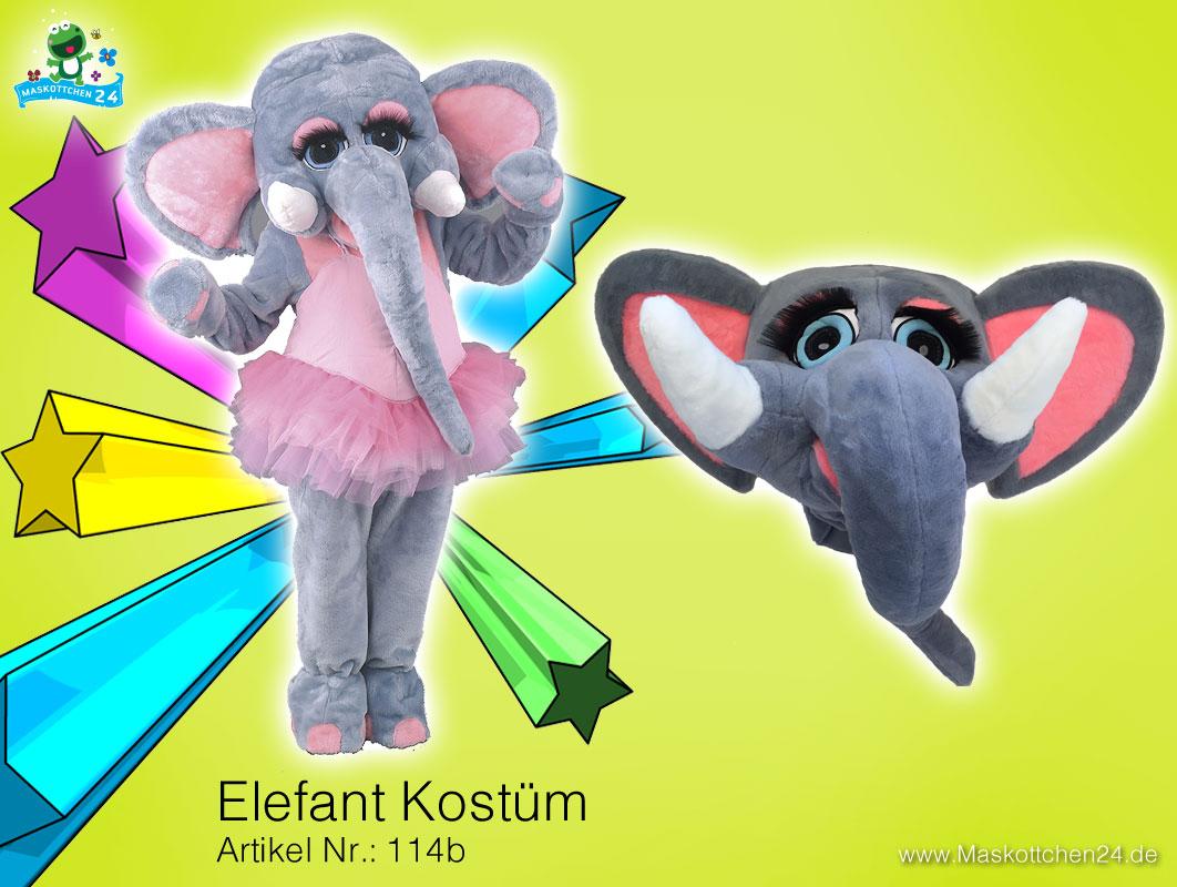 das elefanten 114b kost m ganzk rper f r erwachsene ist maskottchen des tages. Black Bedroom Furniture Sets. Home Design Ideas