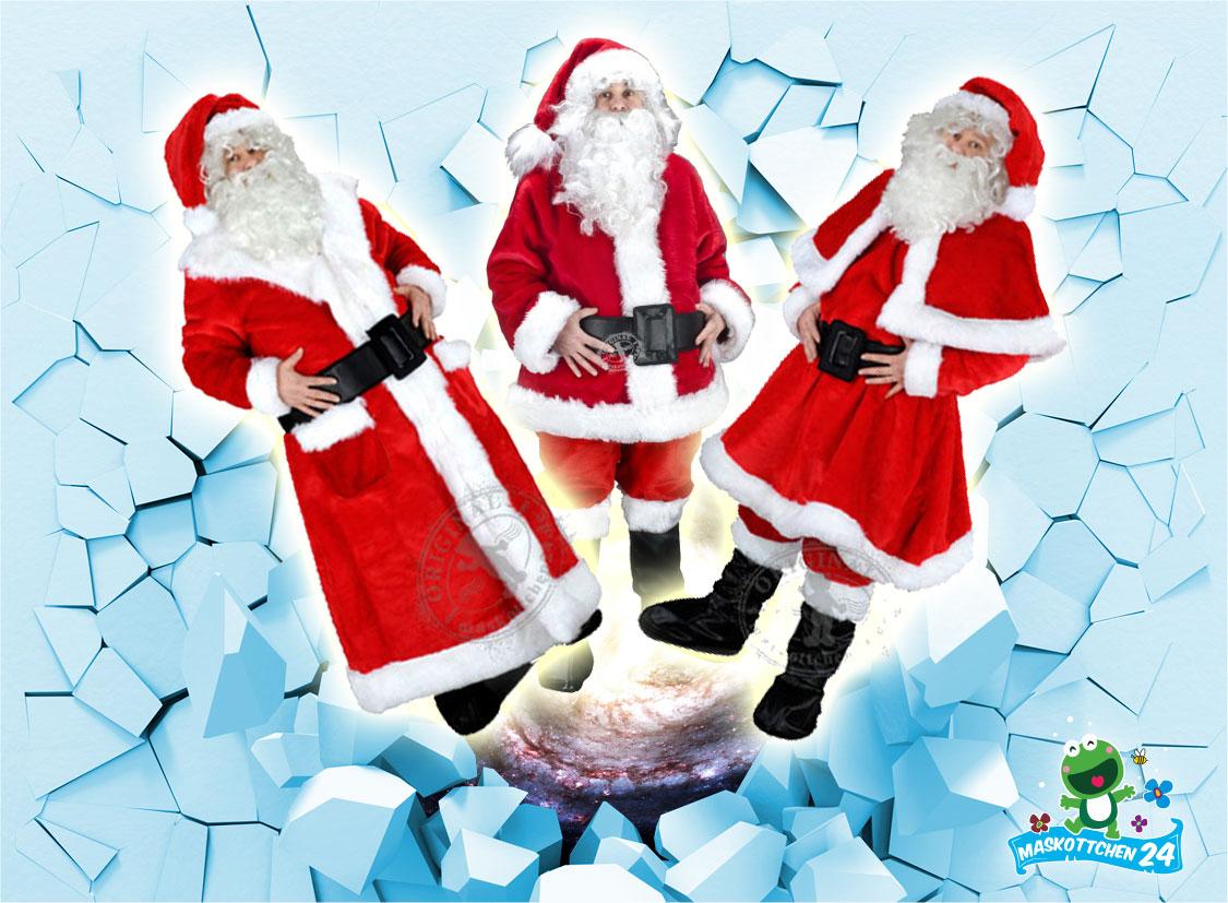 ++ Sie brauchen bis morgen ein Profi Weihnachtsmann Kostüm (198j), kein Problem ++