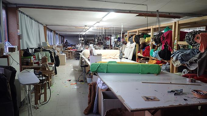 Maskottchen-Produktion-Werkstatt