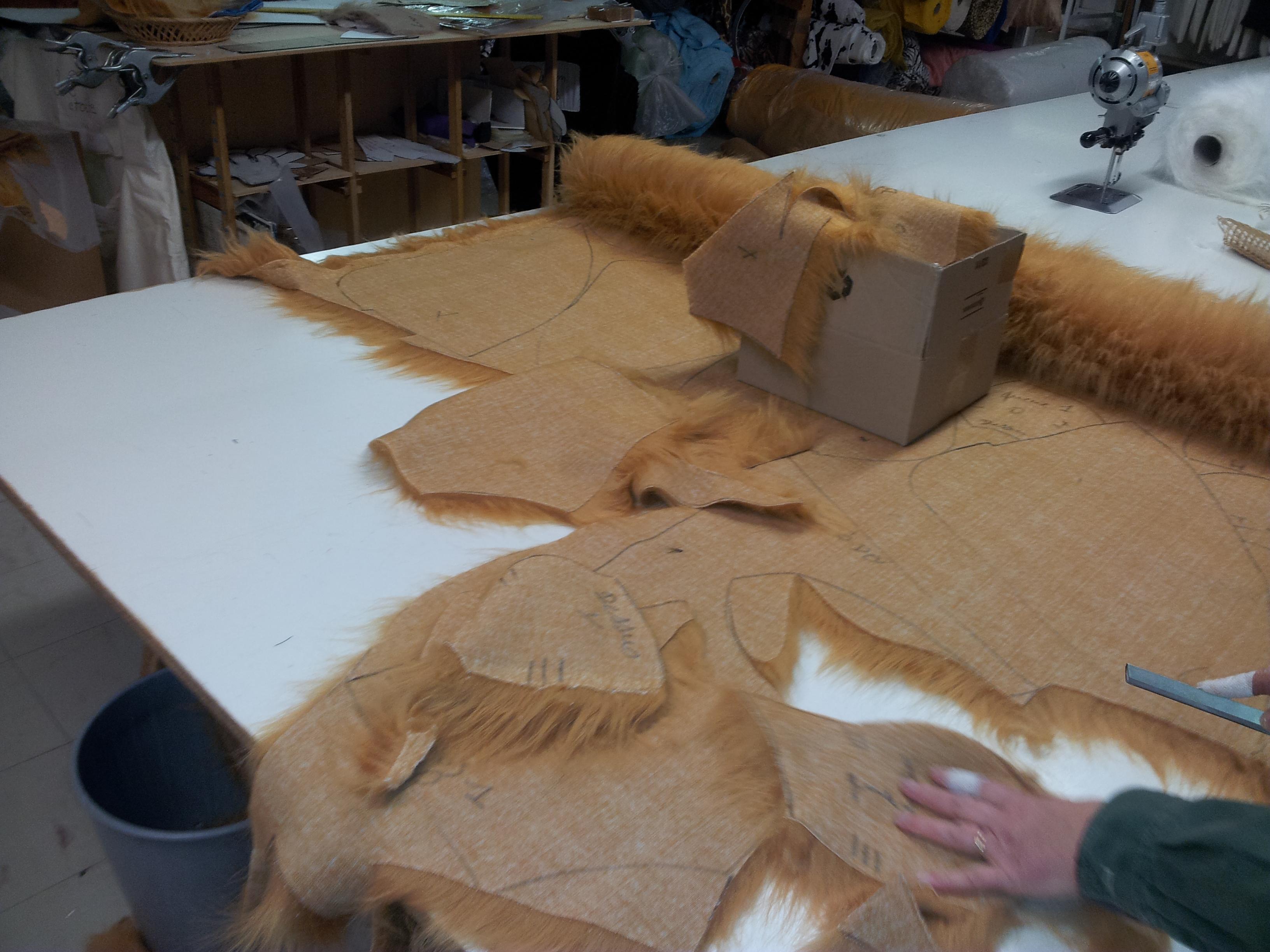 Maskottchen-Produktionen-Werkstatt