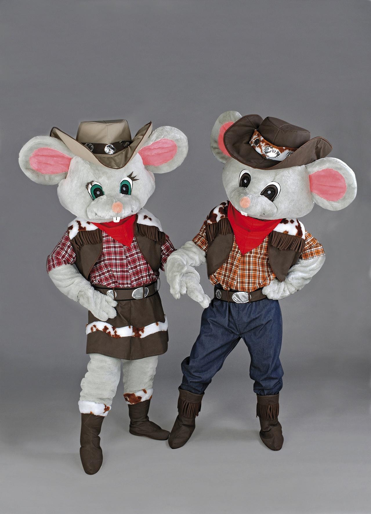 Maus Kostüm 158b Maskottchen