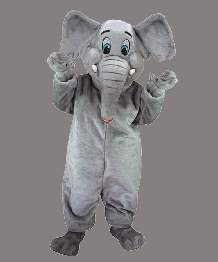Elefanten Kostüm Maskottchen