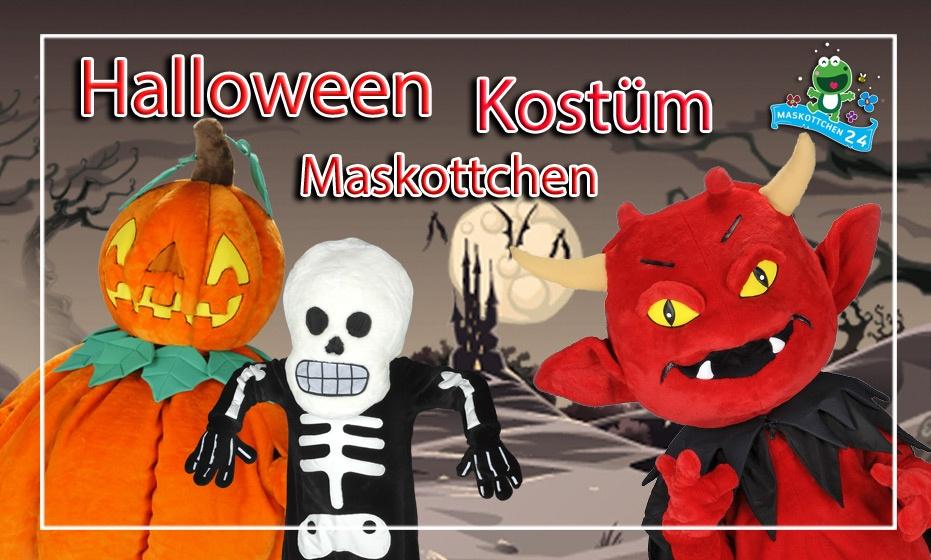 Halloween Kostüm Maskottchen Werbefigur Lauffigur