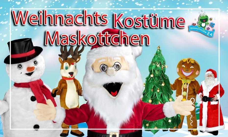 Weihnachts Promotion Werbefiguren Maskottchen Kostüme jetzt im Online Shop !!