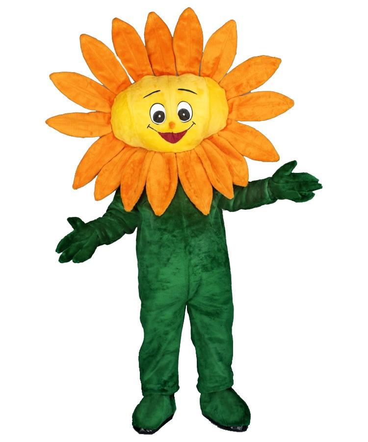 Sonnenblumen Kostüm 84b 84a Promotion Maskottchen