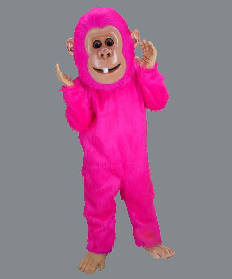 Affen Kostüm Maskottchen Lauffigur Produktion