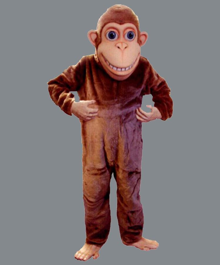 Affen Kostüm Lauffigur Maskottchen Professionell