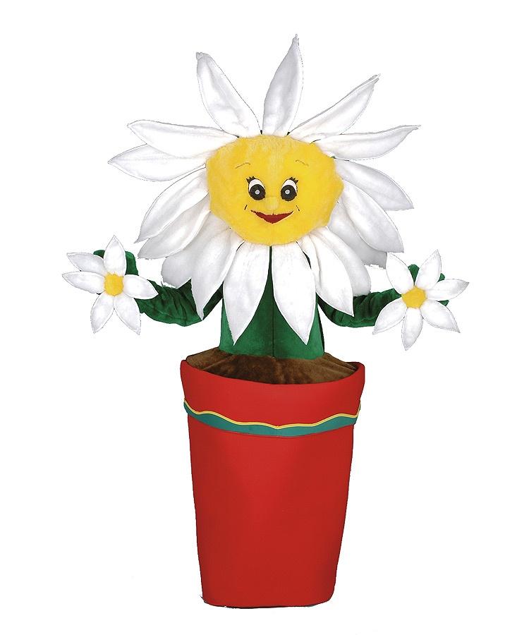Blumen Kostüm Promotion Maskottchen Erwachsene