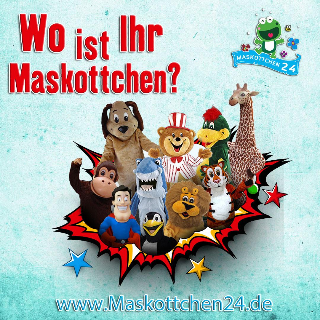 Maskottchen Karneval Fasching Produktion Messe Promotion Kostüme…