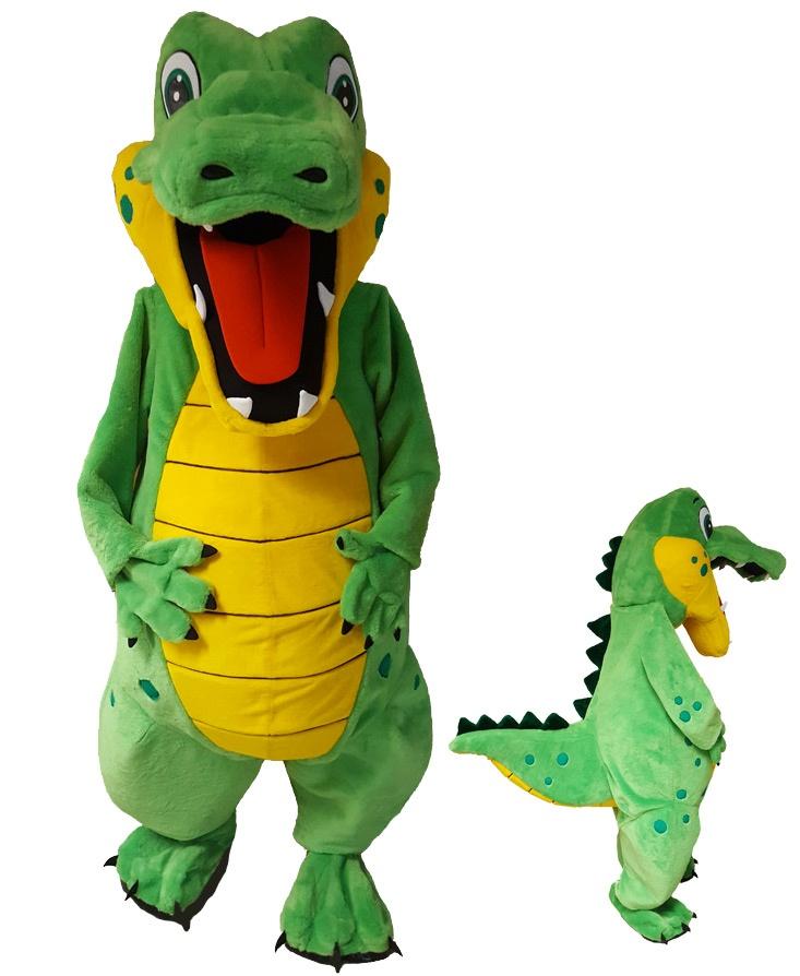 Krokodil Kostüm Promotion  Maskottchen (268c)