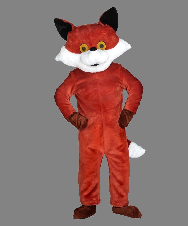 Fuchs Kostüm 79p Maskottchen