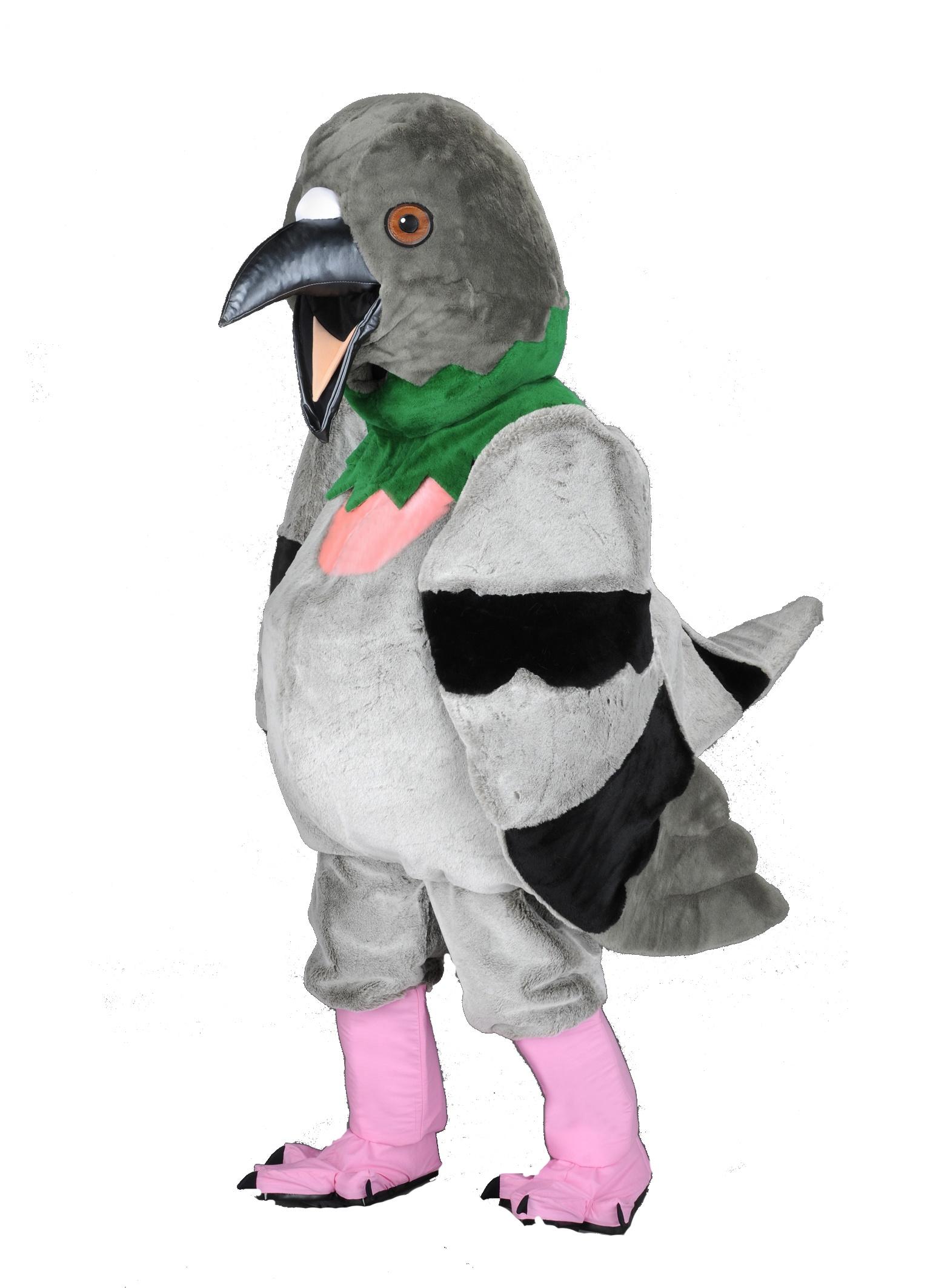 Tauben Kostüm als Maskottchen günstig kaufen…