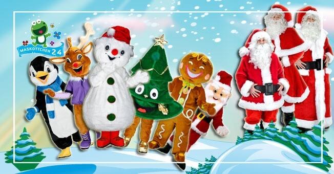 Profi Weihnachtsmann Kostüme günstig kaufen!