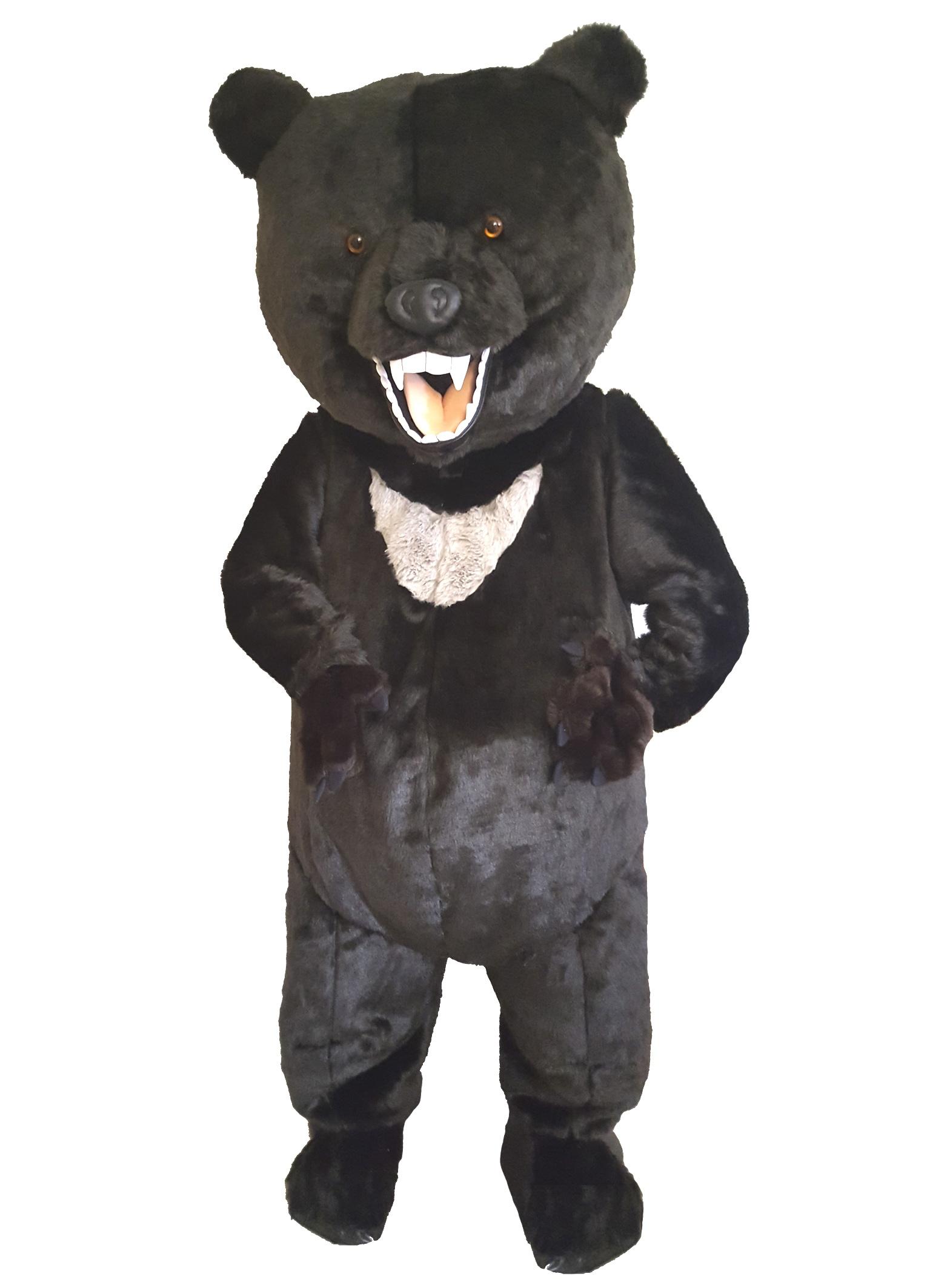 Schwarz Bären Kostüm Angebot 262b