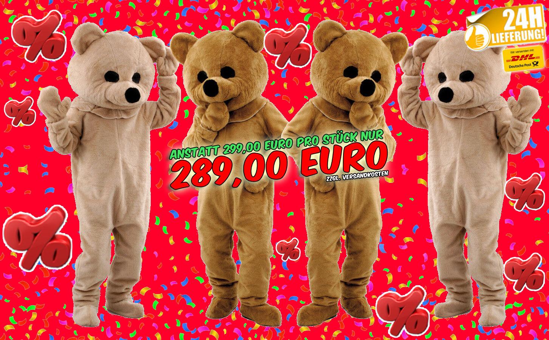 Angebot Bären Kostüme günstig 3p