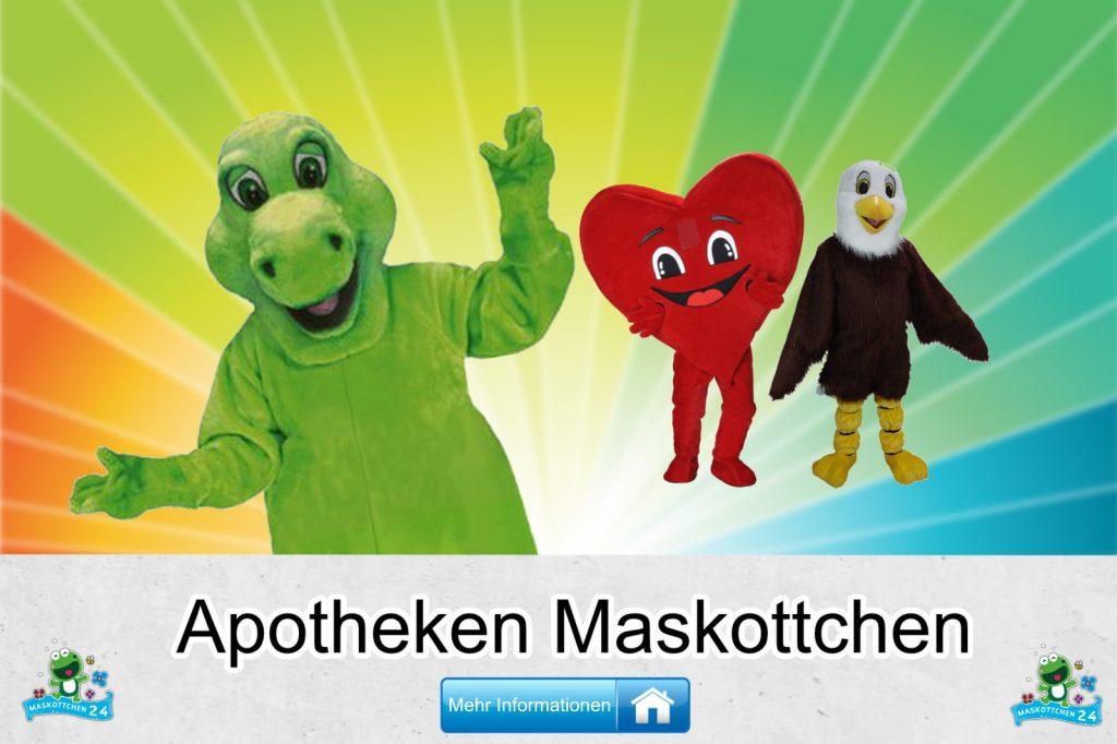 Apotheken Maskottchen Kostüme Lauffiguren kaufen günstig Firma
