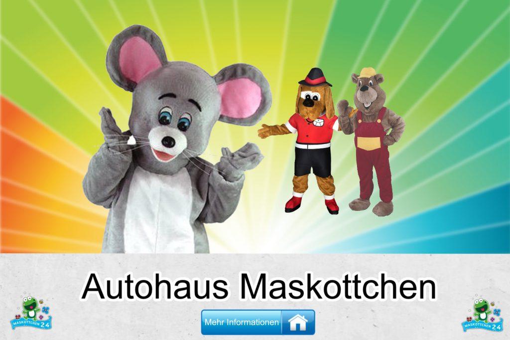 Autohaus Maskottchen Kostüme Lauffiguren kaufen günstig Firma