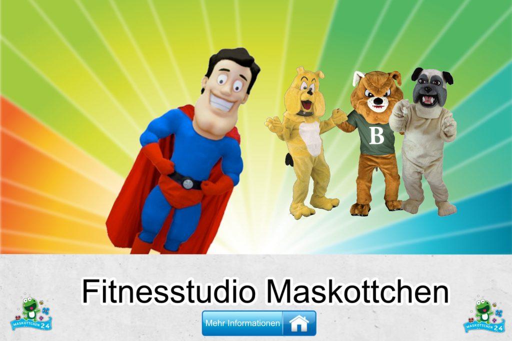Fitnesstudio Kostüme Maskottchen günstig kaufen Produktion