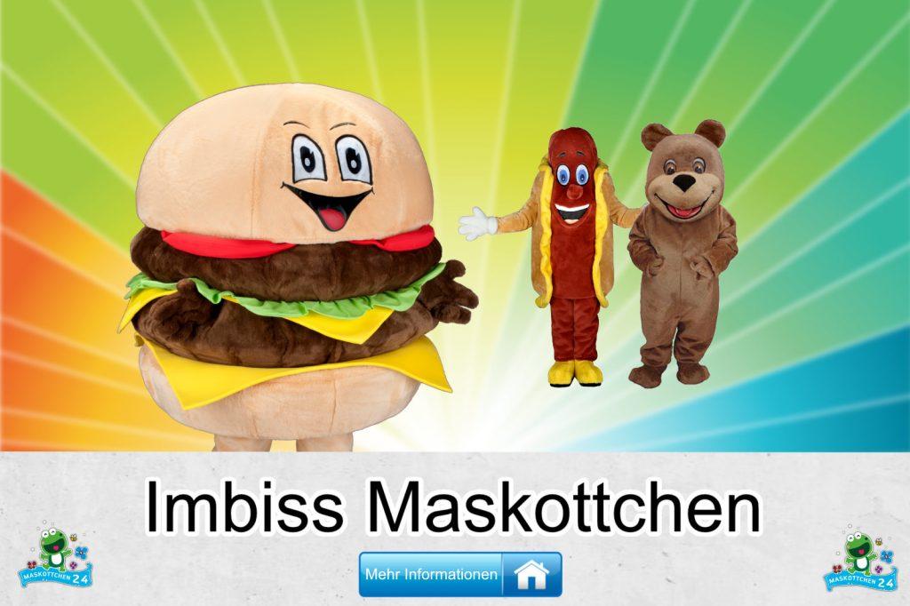 Imbiss Kostüme Maskottchen günstig kaufen Produktion