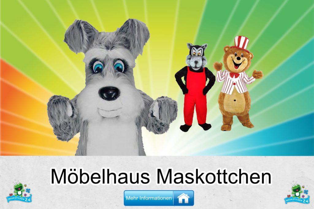 Möbelhaus Kostüme Maskottchen günstig kaufen Produktion