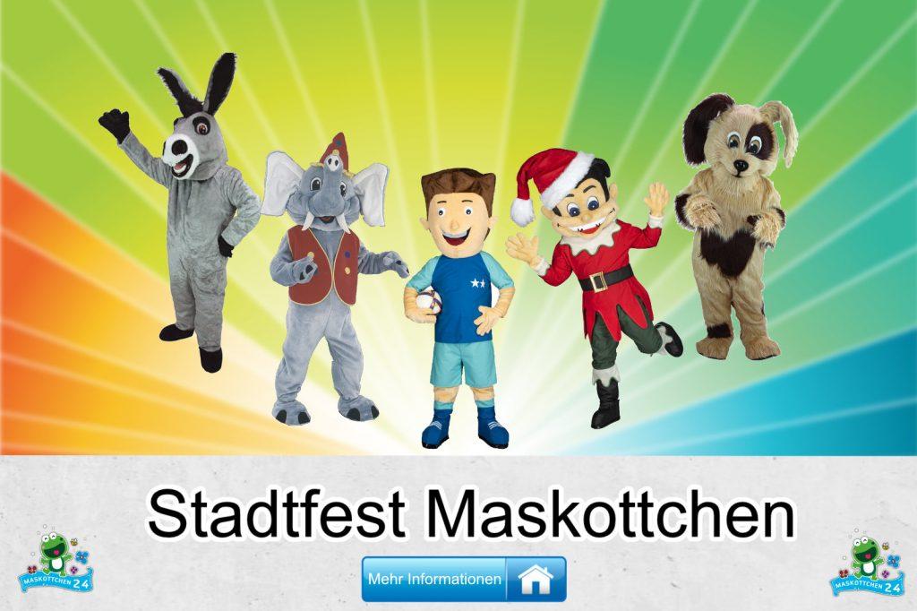 Stadtfest Kostüme Maskottchen günstig kaufen Produktion