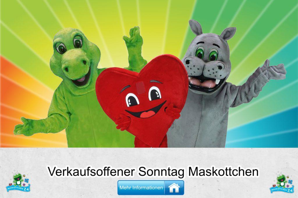 Verkaufsoffener Sonntag Kostüme Maskottchen günstig kaufen Produktion