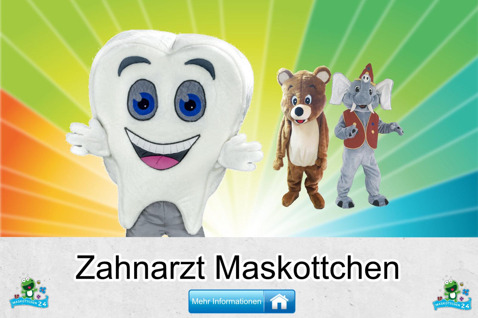 Zahnarzt Maskottchen Kostüm kaufen
