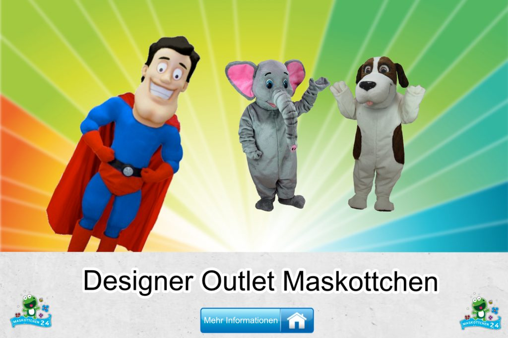 Designer Outlet Kostüme Maskottchen Karneval Produktion Firma Bau