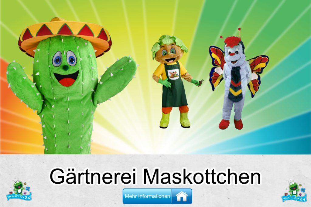Gärtnerei Kostüme Maskottchen Karneval Produktion Firma Bau