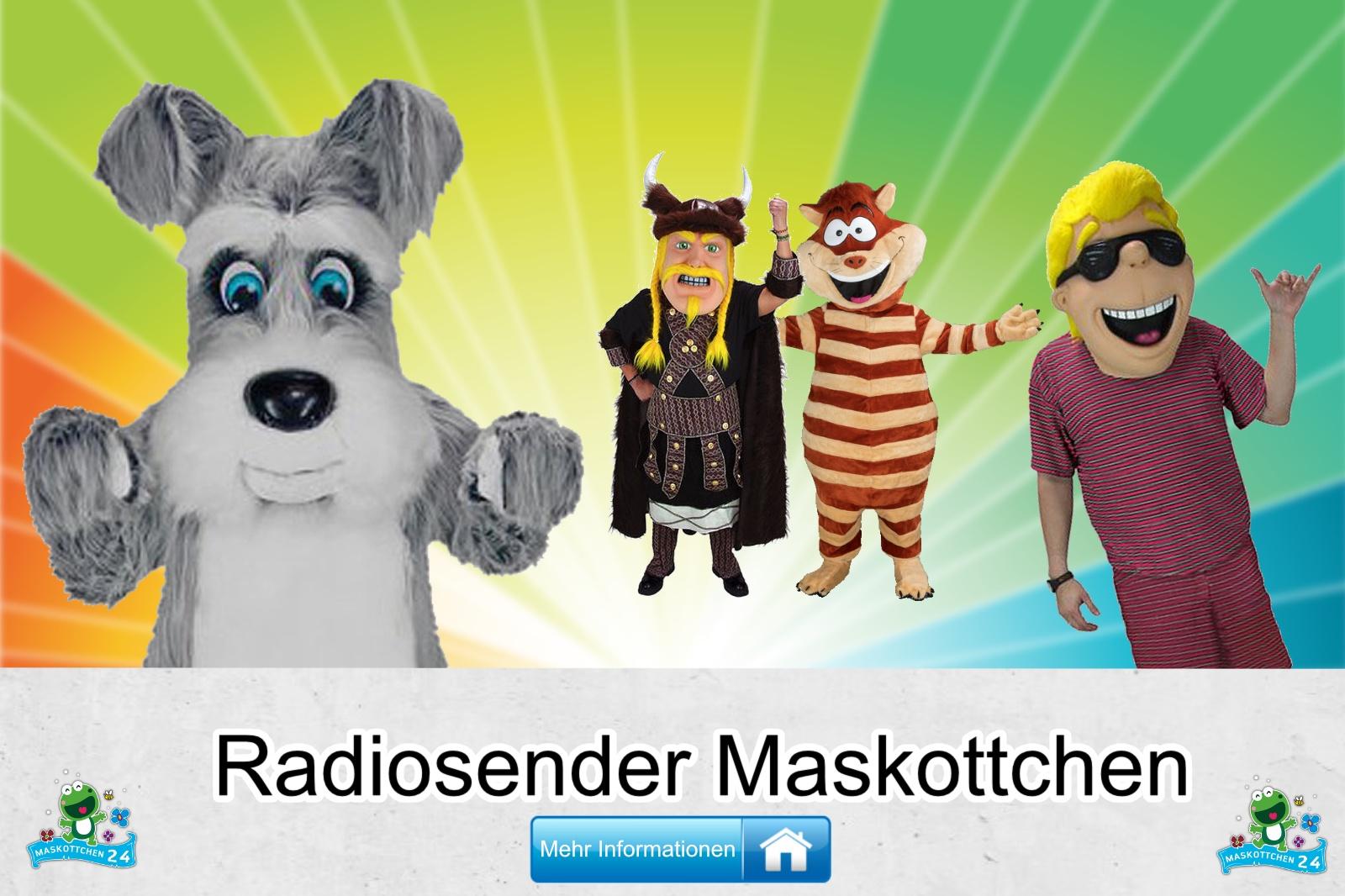 Radiosender Maskottchen Kostüm kaufen
