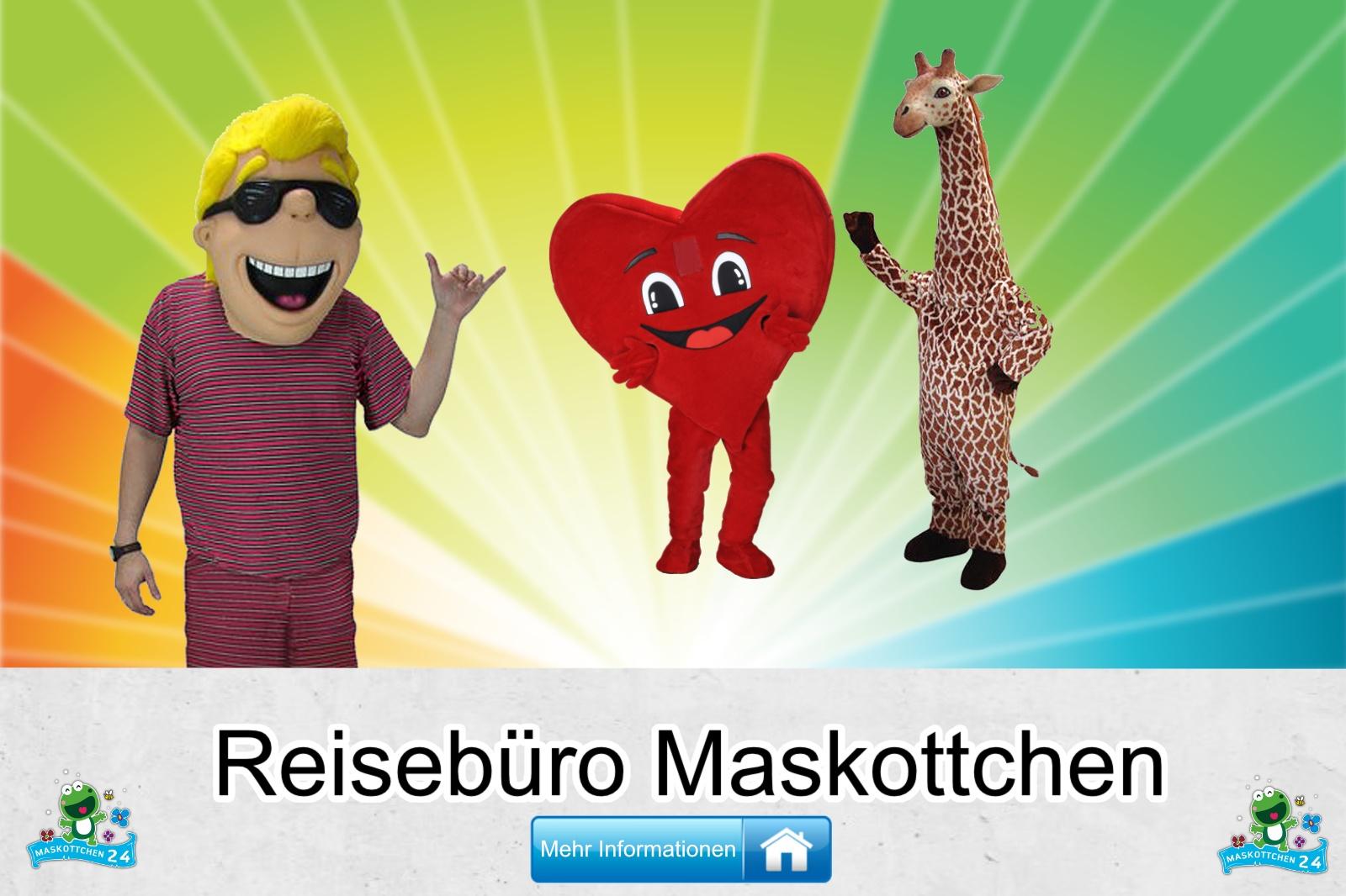 Reisebüro Maskottchen Kostüm kaufen