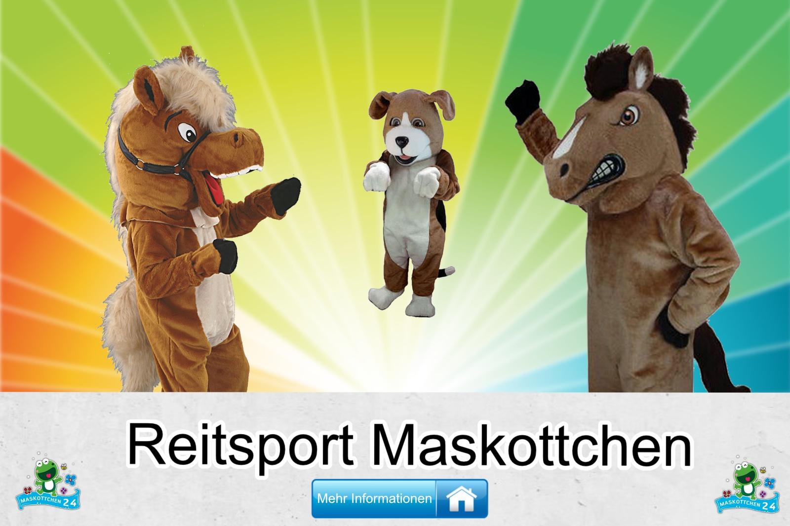 Reitsport Maskottchen Kostüm kaufen