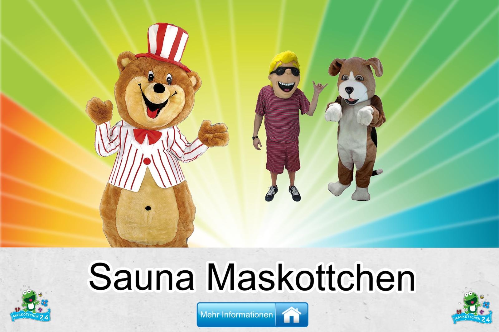 Sauna Maskottchen Kostüm kaufen