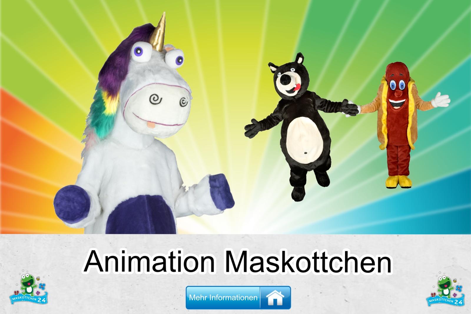 Animation Kostüm Maskottchen kaufen