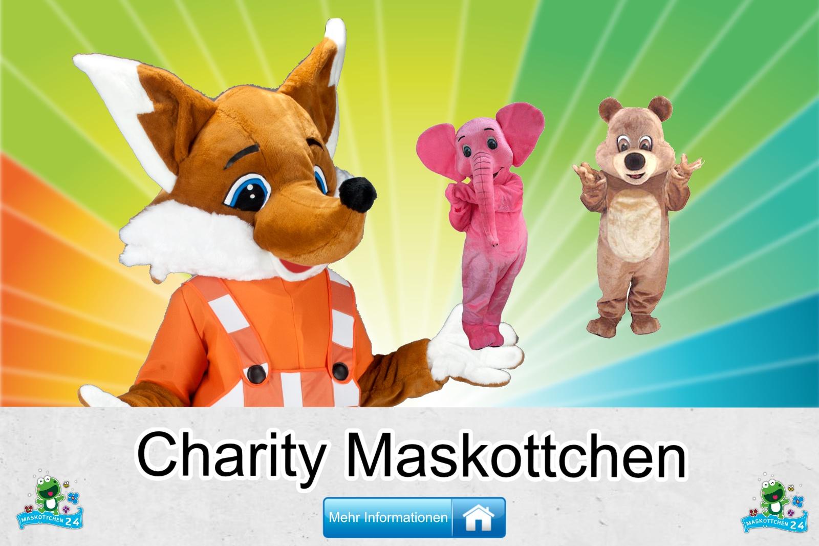 Charity Maskottchen Kostüm kaufen