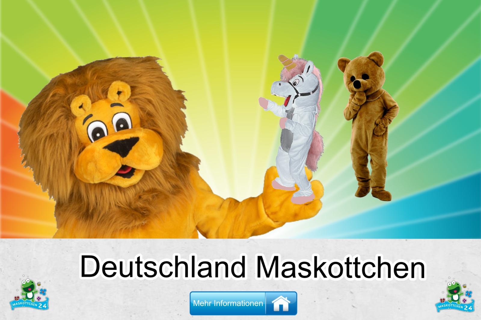 Deutschland Maskottchen Kostüm kaufen