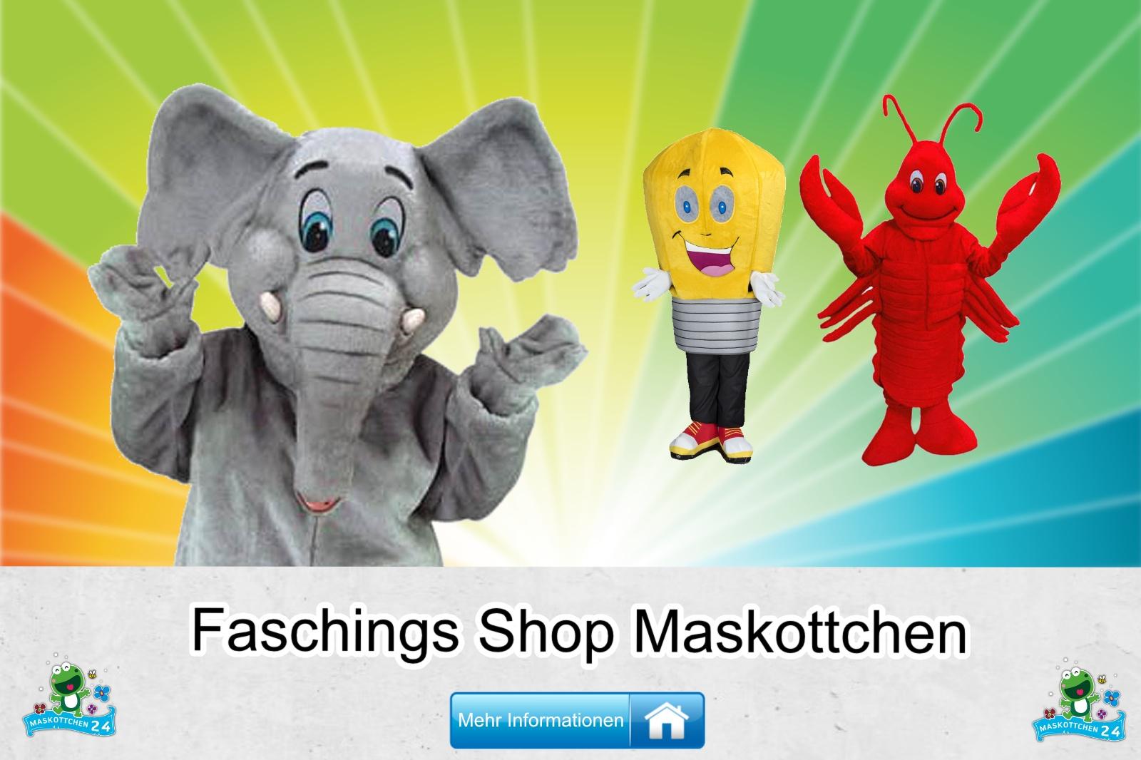 Faschings Shop Maskottchen Kostüm kaufen