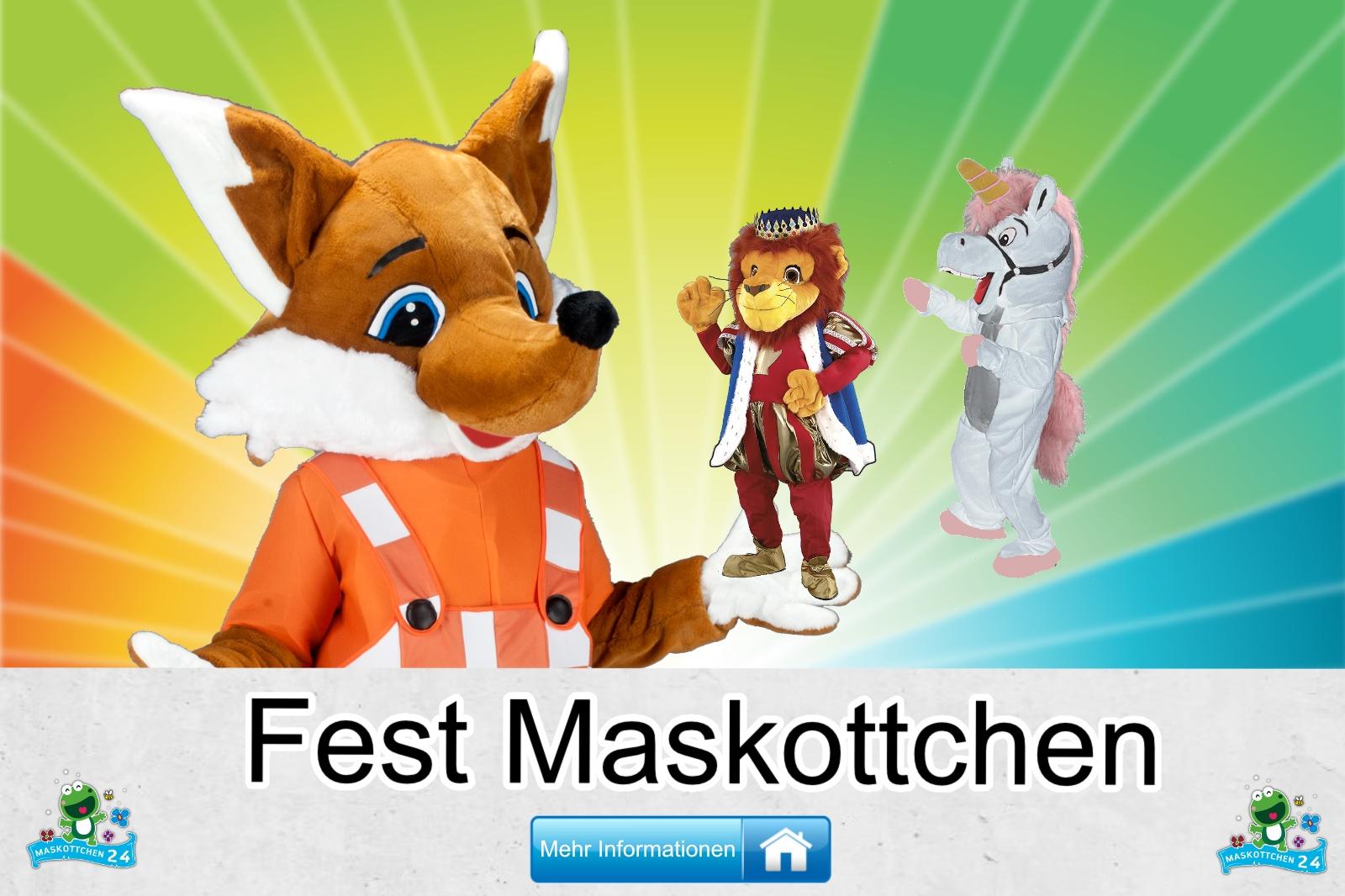 Das Fest Maskottchen Kostüm kaufen, günstige Produktion und Herstellung.