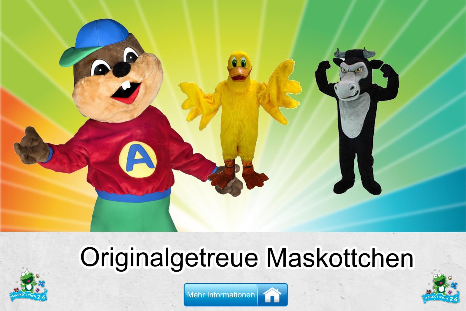 Originalgetreue Maskottchen Kostüm kaufen