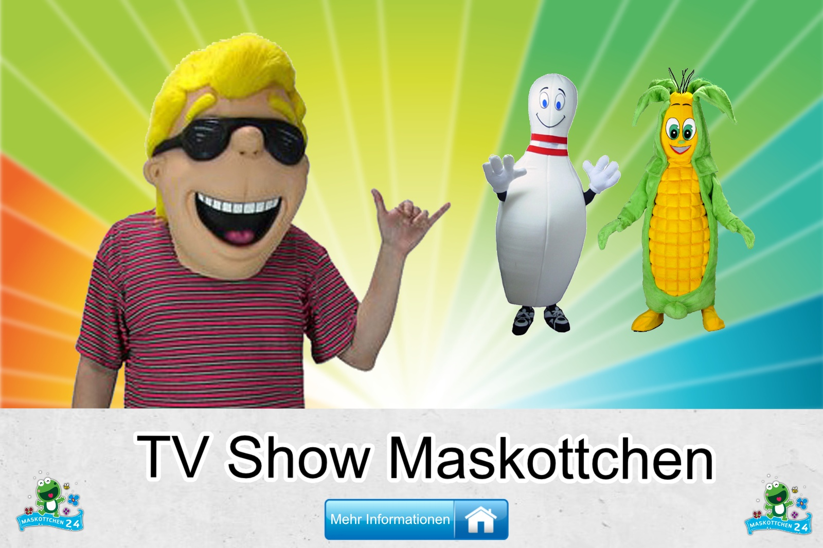 Tv Show Maskottchen Kostüm kaufen