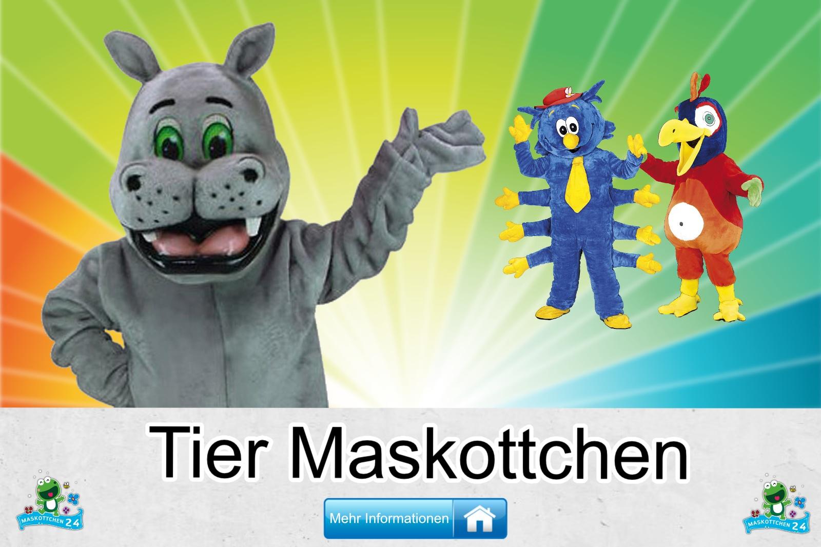 Das Tier, Maskottchen Kostüm kaufen, günstige Produktion und Herstellung.